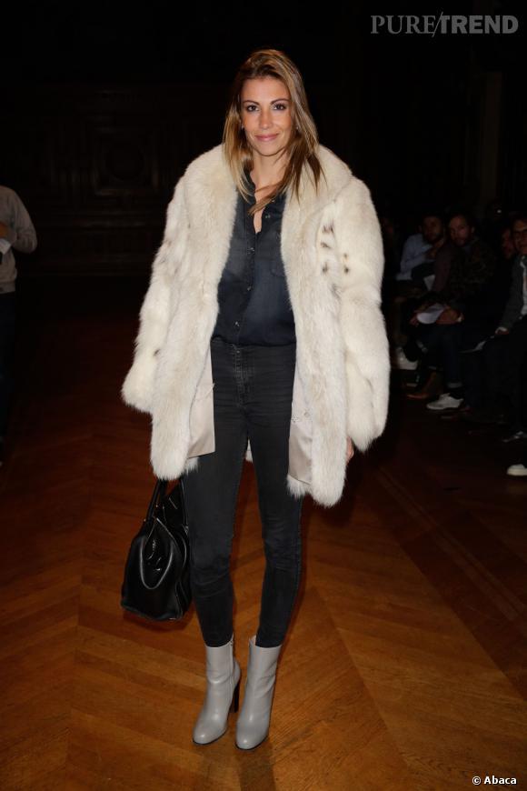 Alexandra Rosenfeld, très chic lors de la Fashion Week Homme : mais où est Jean Imbert ?