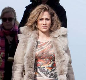 Jennifer Lopez sans maquillage : jogging et manteau ringard, flop !