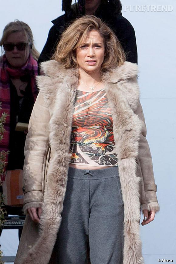 """Jennifer Lopez, un sex-appeal en berne sur le tournage de """"Lila & Eve""""."""