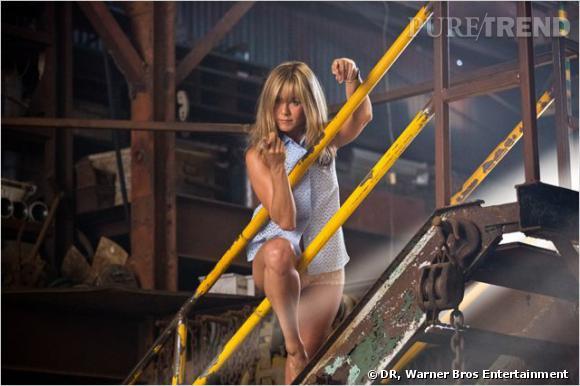 """Jennifer Aniston avait joué les strip-teaseuses très hot pour """"We're The Millers"""" cet été."""