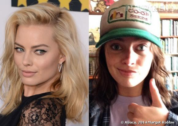 Margot Robbie sans maquillage, du blond au brun !