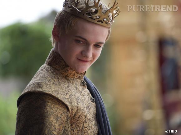"Jack Gleeson en Joffrey-Baratheon dans""Game of Thrones"" saison 4."