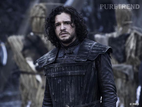 """Kit Harington, un Jon Snow inquiet dans """"Game of Thrones"""" saison 4."""