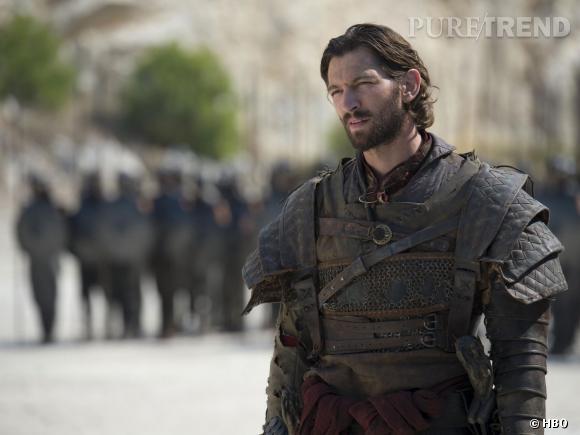 """On découvre mieux le visage de Daario Naharis, joué cette saison par Michiel Huisman (il remplace Ed Skrein) dans """"Game of Thrones""""."""