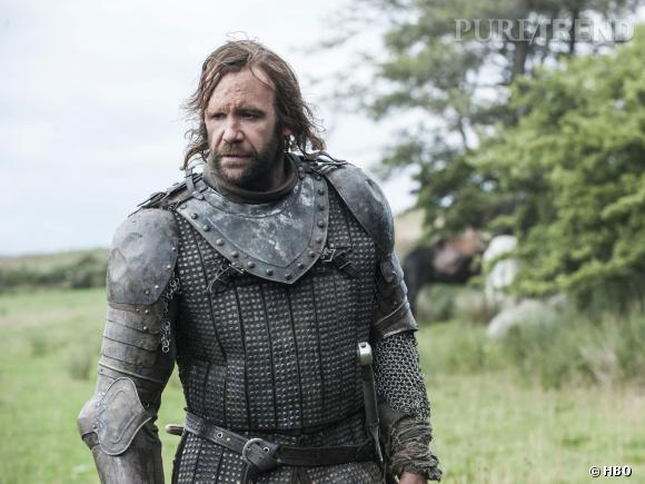 "Rory McCann, alias Sandor ""The Hound"" Clegane dans ""Game of Thrones"" saison 4."