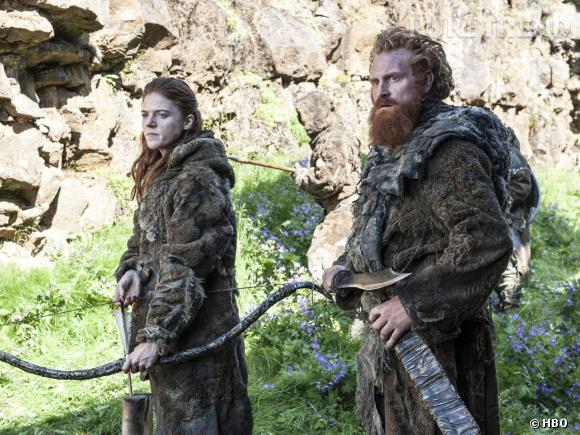 """Rose Leslie (Ygritte) et Kristofer Hivju (Tormund) seront de nouveau de la partie pour la saison 4 de """"Game of Thrones""""."""