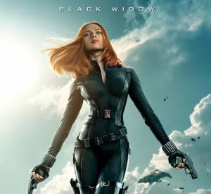 """Scarlett Johansson : le retour de la Veuve Noire sexy pour """"Captain America 2"""""""