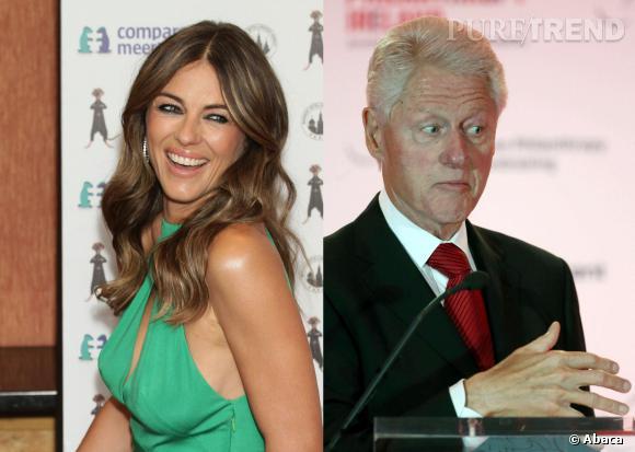 Elizabeth Hurley a-t-elle eu une histoire avec Bill Clinton ?