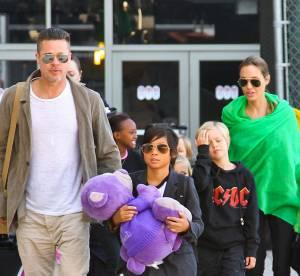Angelina Jolie et Brad Pitt : toute la tribu est de sortie