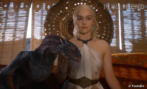 Daenerys Targaryen essaie d'asseoir son pouvoir dans la saison 4.