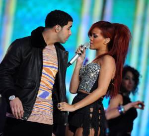 Rihanna et Drake, sur scène ensemble en 2011.