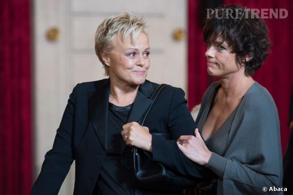 """Muriel Robin et Anne Le Nen, un duo de choc à l'écran ce soir, 19 février 2014, pour le téléfilm """"Passage du Désir"""", sur France 2."""