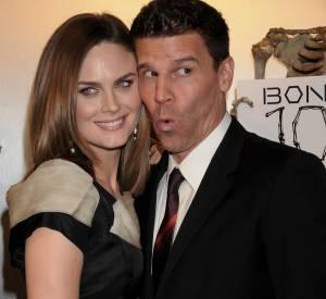 David Boreanaz est taquin avec Emily Deschanel.