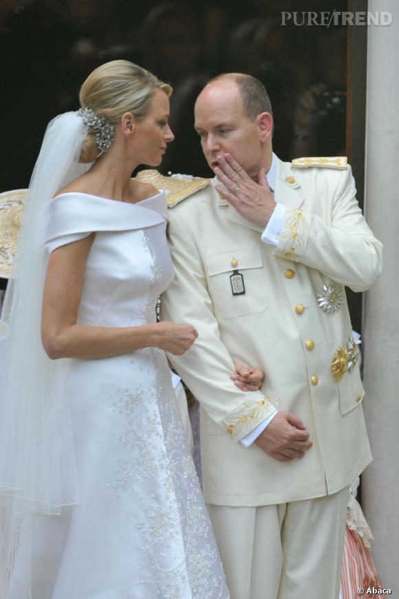 Charlène et le Prince Albert se sont mariés en juillet 2011.