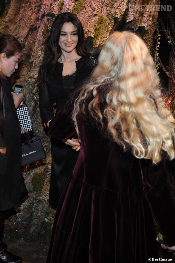 Monica Bellucci, radieuse égérie Dolce & Gabbana.
