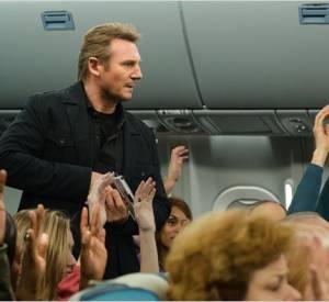 """Liam Neeson dans """"Non-Stop"""", un acteur habitué aux rôles de héros."""