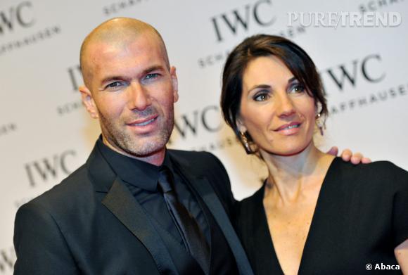 Zinédine Zidane et sa femme. La relève est assurée ?
