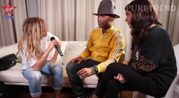 Enora Malagré a frôlé le flop en en faisant trop et en mettant presque mal à l'aise le chanteur Pharrell Williams alors qu'elle l'interviewait pour Virgin Radio.