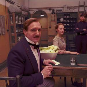 """The Grand Budapest Hotel"", avec Ralph Fiennes."