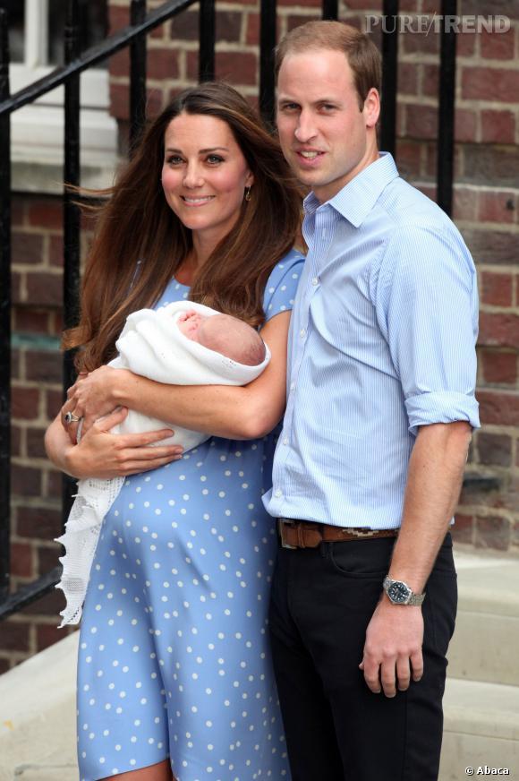 Kate Middleton et le prince William, alors tout jeunes aprents, pensaient ne pas avoir besoin de nounou.