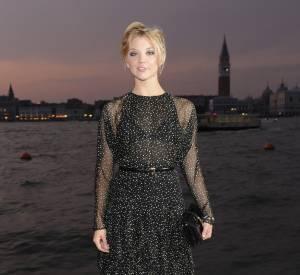 Natalie Dormer en Gucci à la Mostra de Venise en 2011.