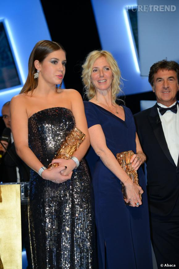 Adèle Exarchopoulos, meilleur espoir féminin aux César 2014.