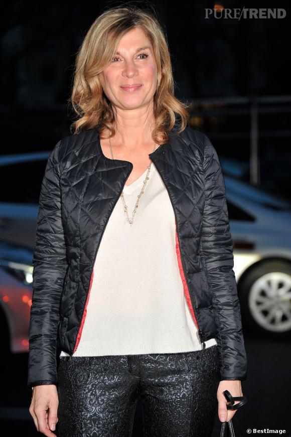 """Michèle Laroque, la comédienne commence le tournage de son propre film """"Jeux dangereux"""", financé par les internautes, en septembre 2014."""