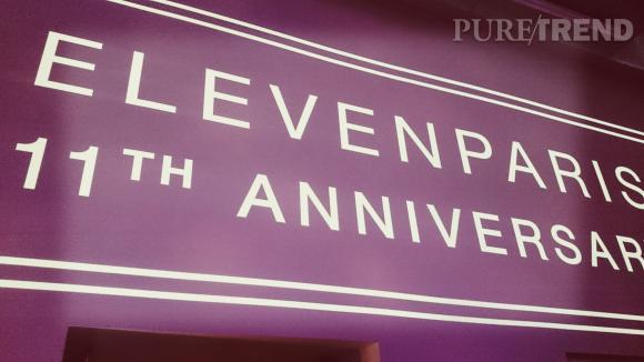 Joyeux anniversaire Eleven !