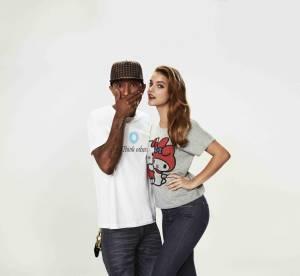 Pharrell Williams et Uniqlo : des T-shirts très arty pour une collab à la pointe
