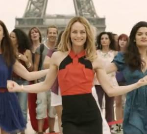 Flashmob avec Vanessa Paradis pour la journée de la femme 2014.