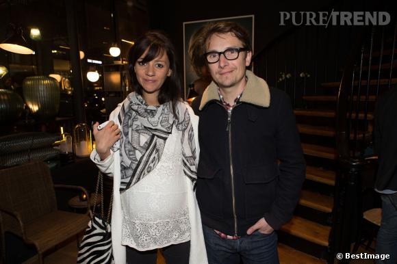 Lorànt Deutsch et sa femme Marie-Julie Baup attendent leur 3e enfant.