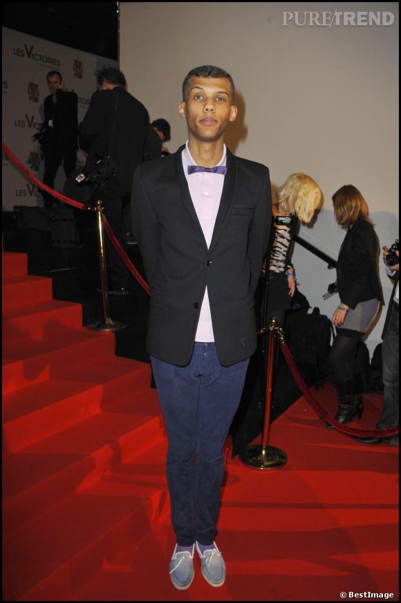 Stromae à la cérémonie des Victoires de la Musique 2011.