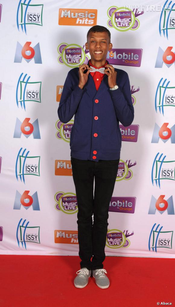 Stromae aux M6 Mobile Music Live en juin 2010.