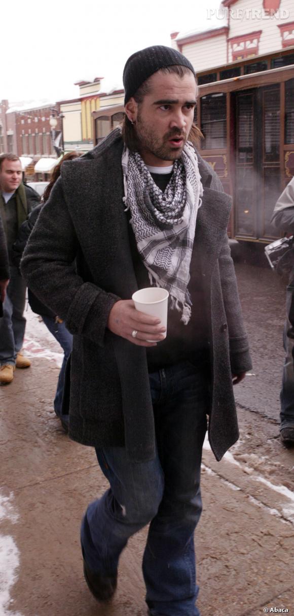 Colin Farrell, pas si bad boy que ça en fait.