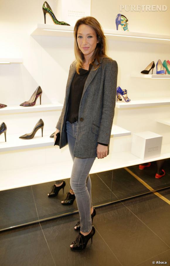 Laura Smet à l'inauguration de la boutique CosmoParis au 211 rue Saint-Honoré jeudi 13 mars 2014.