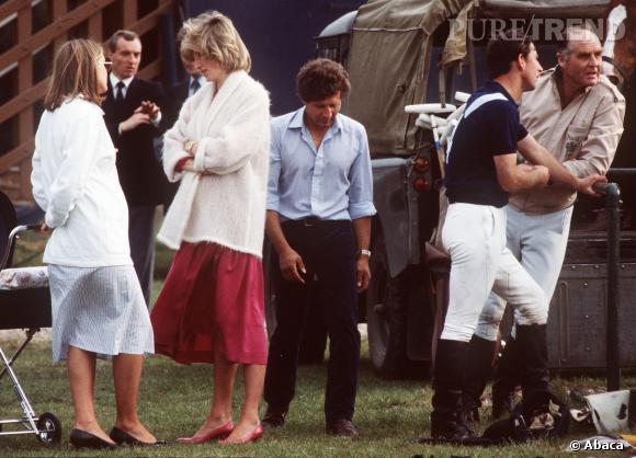 La Princesse Diana et le prince Charles en 1985.