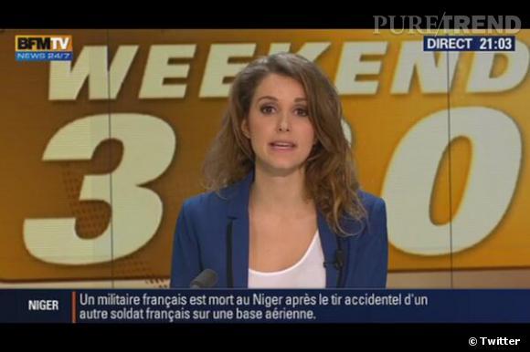 Si vous la reconnaissez, c'est normal, Fanny Agostini est journaliste sur BFMTV !