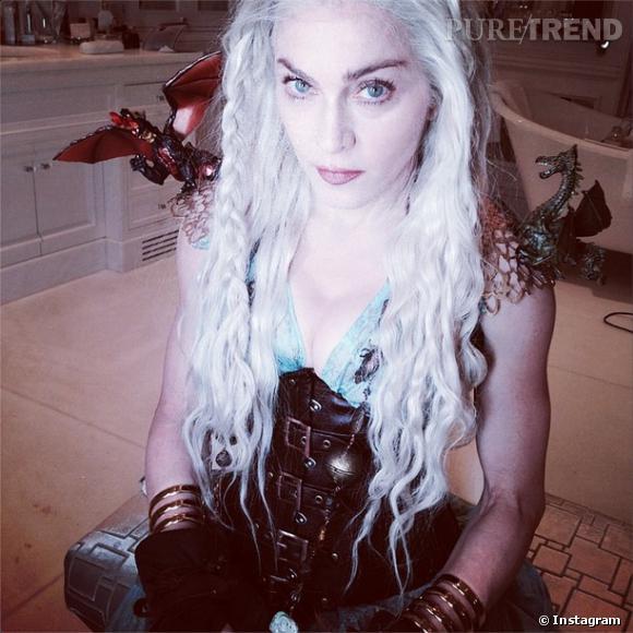 "Madonna se déguise en Daenerys de ""Game of Thrones""."