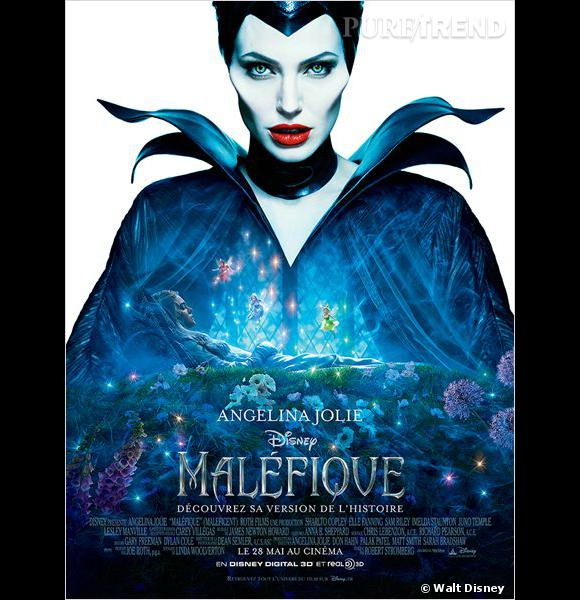 """Angelina Jolie dans """"Maléfique"""", une sortie prévue le 28 mai 2014."""