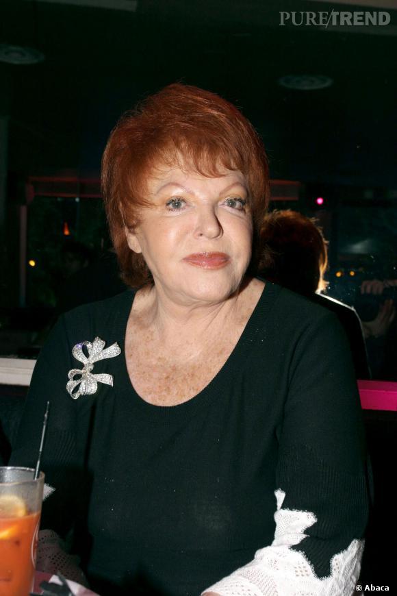 Régine en juin 2006.