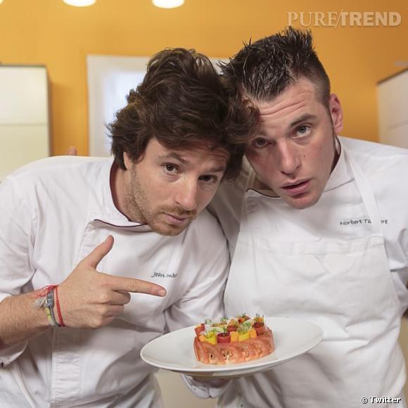 Norbert et Jean, un duo de choc en cuisine comme à la télé !