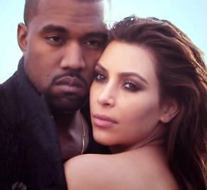Vidéo behind the scenes du shooting de Kim Kardashian et Kanye West pour le numéro d'avril 2014 du Vogue US.
