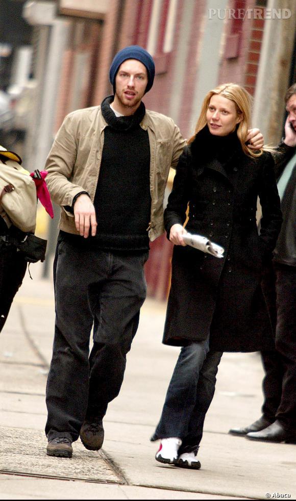 Gwyneth Paltrow et Chris Martin se sont rencontrés en 2002, dans les coulisses d'un concert du groupe Coldplay.