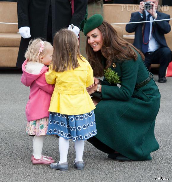 Kate Middleton passerait-elle plus de temps avec les enfants des autres ?