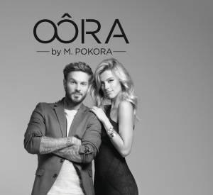 La publicité de la collection Oôra by M Pokora pour la marque Cache Cache.