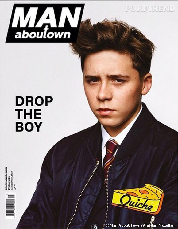 Brooklyn Beckham en couverture du numéro du Printemps-Été 2014 du magazine Man About Town.