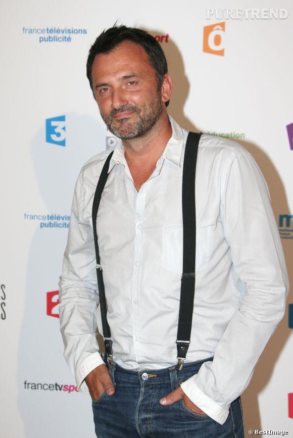 """Frédéric Lopez a défendu son programme, """"Rendez-vous en Terre Inconnue"""" sans animosité, le 7 avril 2014, sur Canal +."""