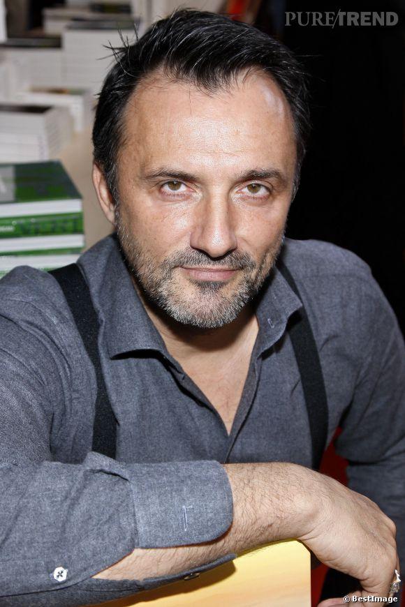 Frédéric Lopez, il répond aux attaques de Josiane Balasko sur le plateau du Before du Grand Journal, le 7 avril 2014.