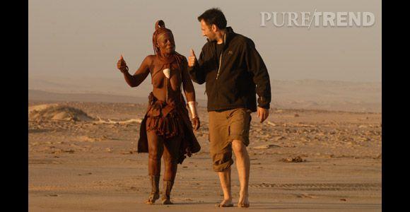 """Frédéric Lopez a crée son programme """"Rendez-vous en Terre Inconnue"""" en 2004, un concept qui cartonne auprès du public."""