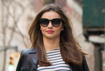 Miranda Kerr, le look rock et folk du printemps... Un look à copier !